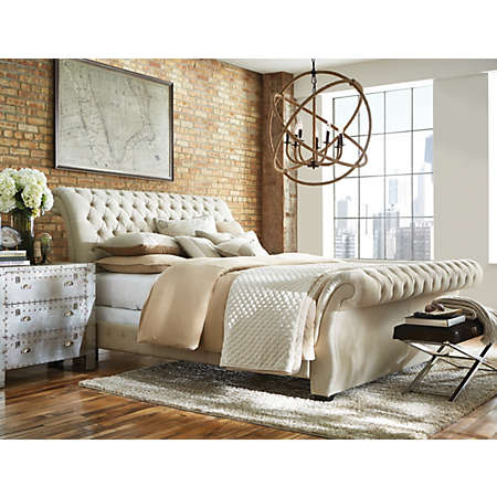 Bombay Linen Collection | Upholstered Beds | Bedrooms | Art Van ...