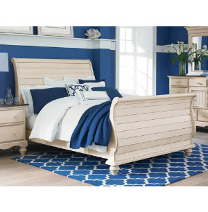 Pine Island Queen Sleigh Bed | Master Bedroom | Bedrooms | Art Van