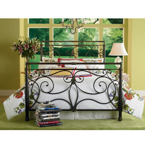 Brady King Metal Bed