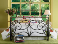 Brady Queen Metal Bed