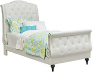 shop Cecilia Twin Sleigh Bed