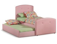 Laci-Pink-Twin-Uph-Bed-&-Trun