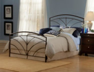 Thompson Queen Metal Bed