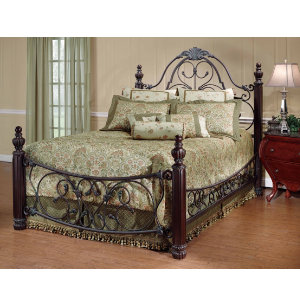 Boniare King Metal Bed