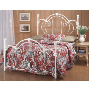 Cherie King Metal Bed