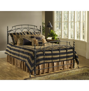 Ennis King Metal Bed