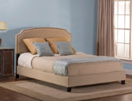 Lani Queen Upholstered Bed LB