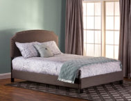 Lani Twin Upholstered Bed DLG