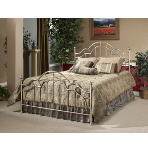 Mableton King Metal Bed