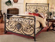 Mercer Queen Metal Bed