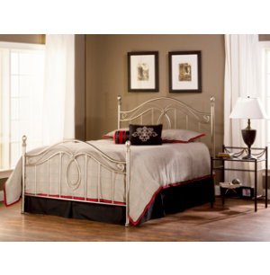 Milano Queen Metal Bed