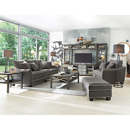 Dillon Living Room Collection | Fabric Furniture Sets | | Art Van ...