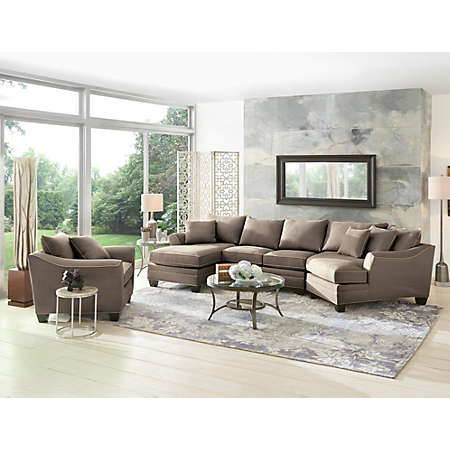 shop Dillon Sectional Collection Main  sc 1 st  Art Van Furniture : art van sectional - Sectionals, Sofas & Couches