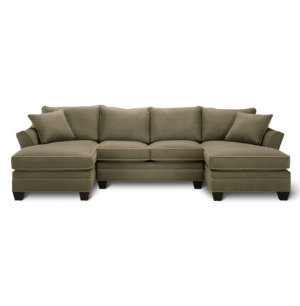 3 Piece Dual Chaise Sectional
