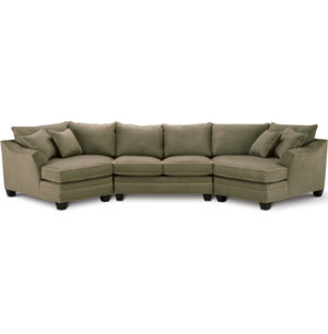 3 Piece Dual Cuddler Sectional