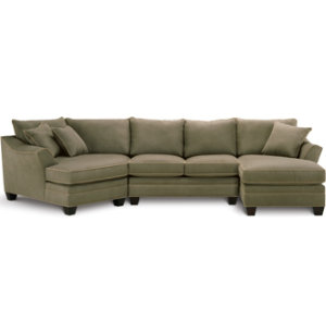 3 Piece Theater Sectional Set