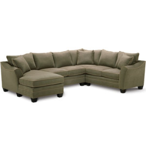 4 Piece Family Sectional Set