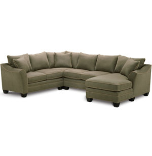 4 Piece Family Room Sectional