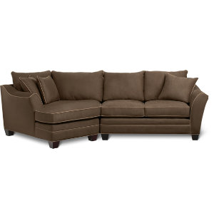 2 Piece Studio Sectional Set