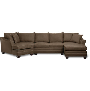 3 Piece Theater Sectional