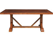 Dakota Ridge Trestle Table