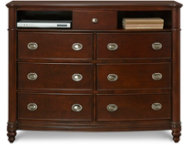 Carmen 7 Drawer TV Chest