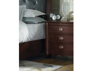 Carmen 3 Drawer Nightstand