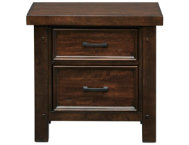 Sonoma 2 Drawer Nightstand Yth