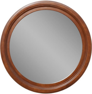 Round Mirror - Cherry