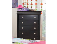 5-Drawer-Chest---Black