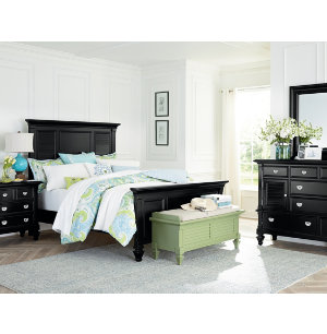 Summer Breeze Black Collection Master Bedroom Bedrooms Art Van Furnitur