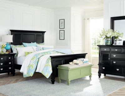 Summer Breeze Black Collection Master Bedroom Bedrooms Art