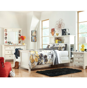 Summer Breeze White Youth Youth Bedroom Bedrooms Art