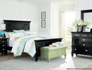 Breeze Black 3pc Queen Bedroom