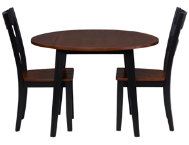 3PC Drop Leaf Set - Cherry