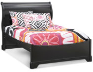 Full Sleigh Bed - Black