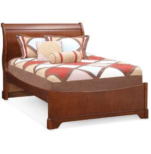 Full Sleigh Bed - Cherry