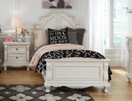 Chateau Monaco Full Panel Bed