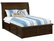 Sonoma Full Sleigh Bed w Stor.