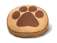 Brown Round Pet Bed