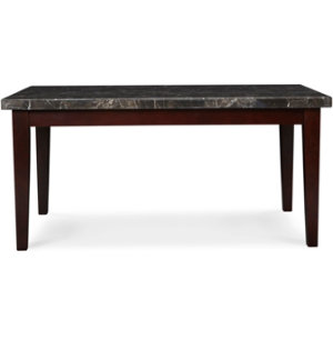 venice marble dining table art van furniture