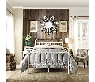 . Bedford Full Metal Bed   Metal Beds   Bedrooms   Art Van Furniture