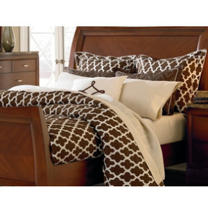 Moroccan Queen Duvet Set