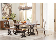 Natural Loft Dining Table Art Van Furniture