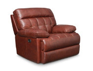 Power Leather Recliner