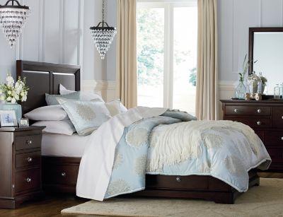 Orleans Merlot Collection Master Bedroom Bedrooms Art Van