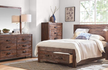 Warner 5 Piece Queen Bedroom Set