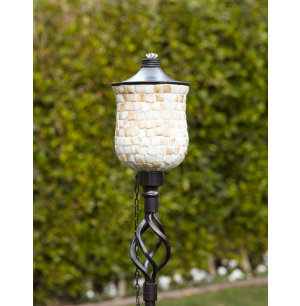 4 Pack Tulip Mosaic Torches