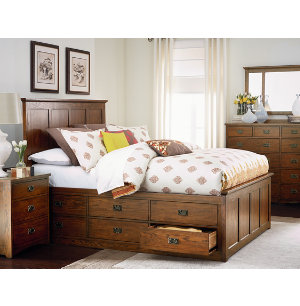 Oak Park Collection Master Bedroom Bedrooms Art Van Furniture The Mid