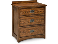 shop Oak-Park-3-Drawer-Nightstand